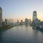 隅田川を望む・リバービューの開放感-秀和新川レジデンス